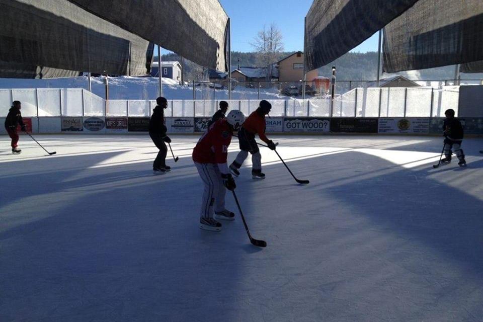 Pagosa Springs Ice Skating Rink Hockey