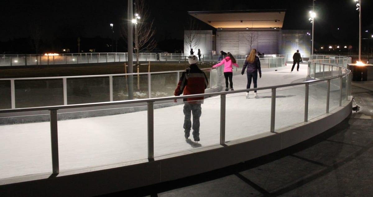 Outdoor Ice Skating Parker Colorado