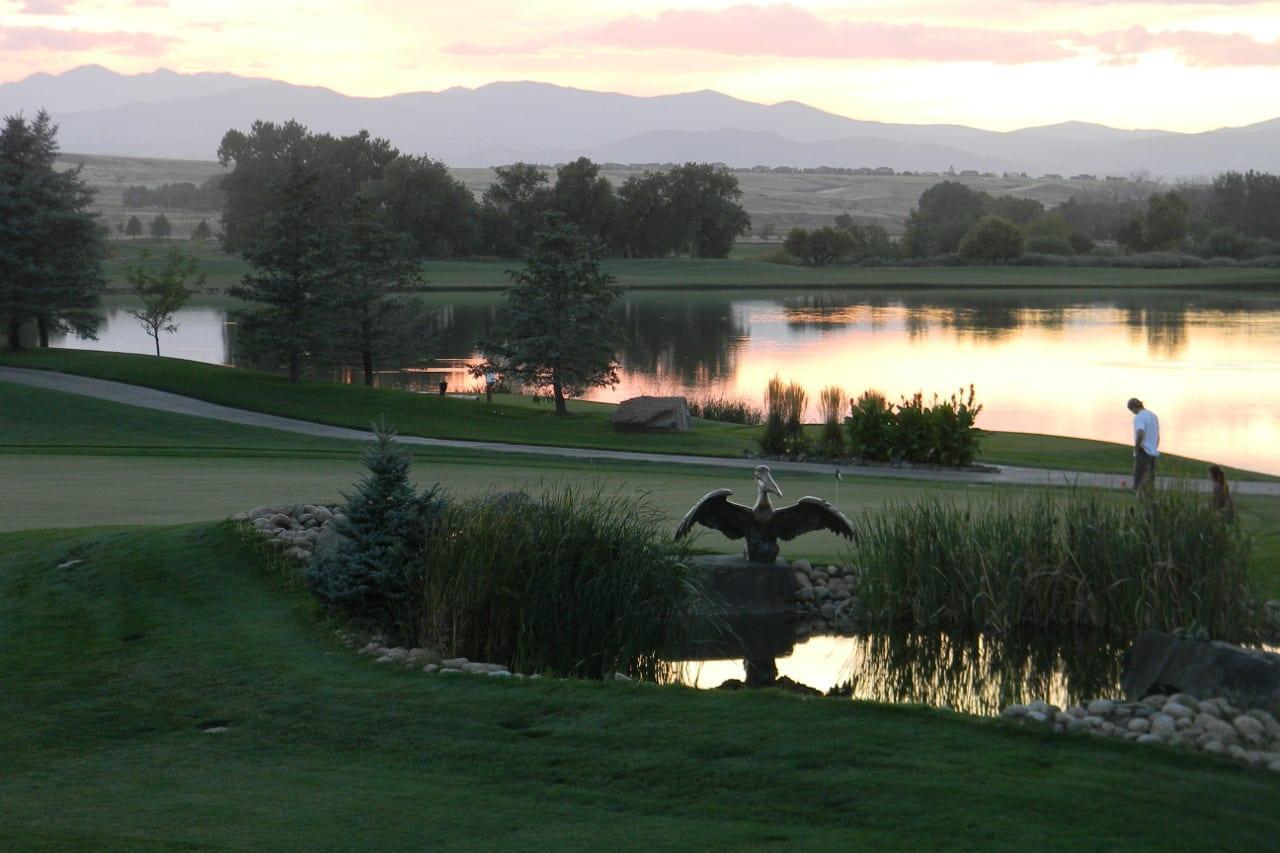 Pelican Lakes Sunset Windsor Colorado