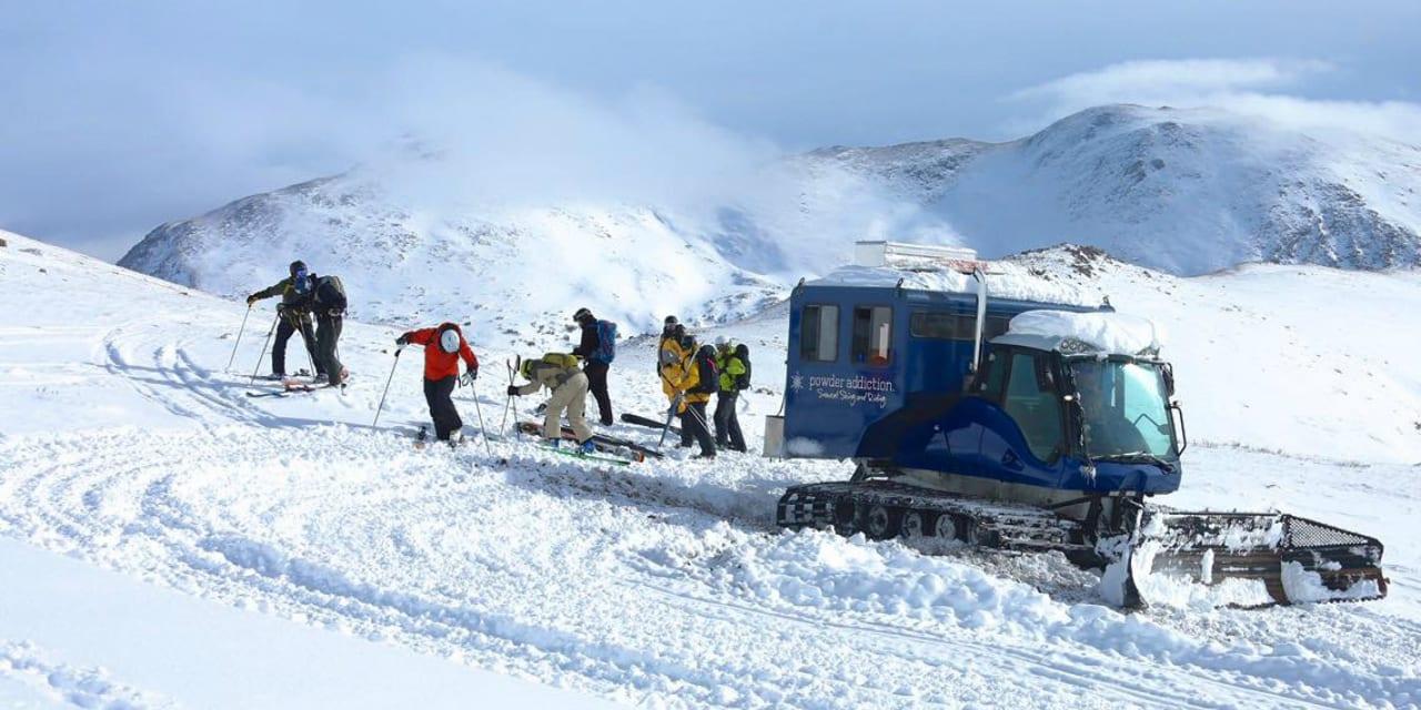 Powder Addiction Snowcat Skiing Jones Pass Winter Park
