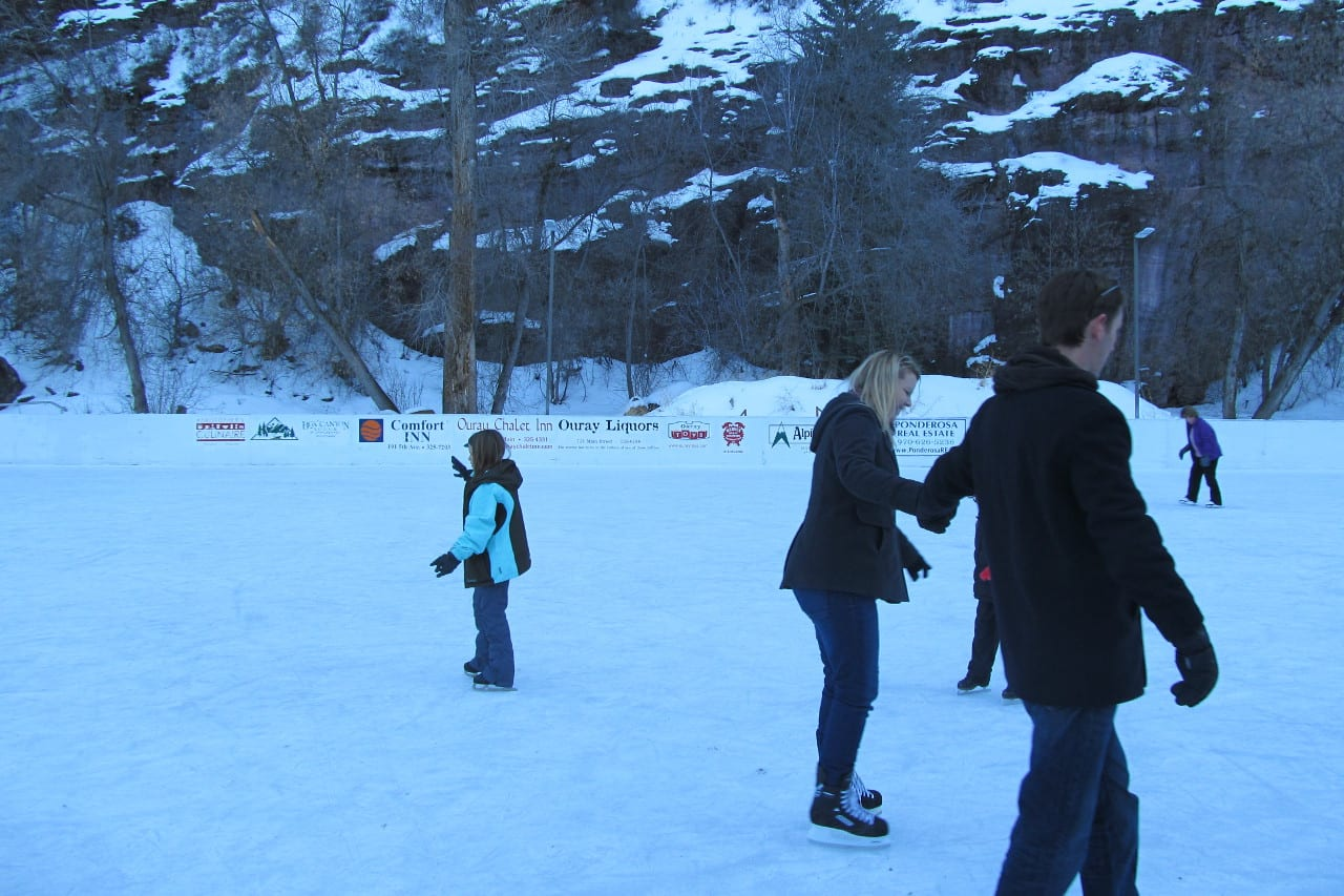 Ouray Ice Skating Rotary Park