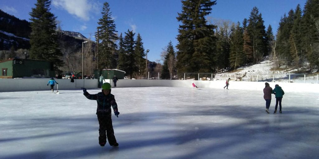 Rotary Park Ice Rink Ouray