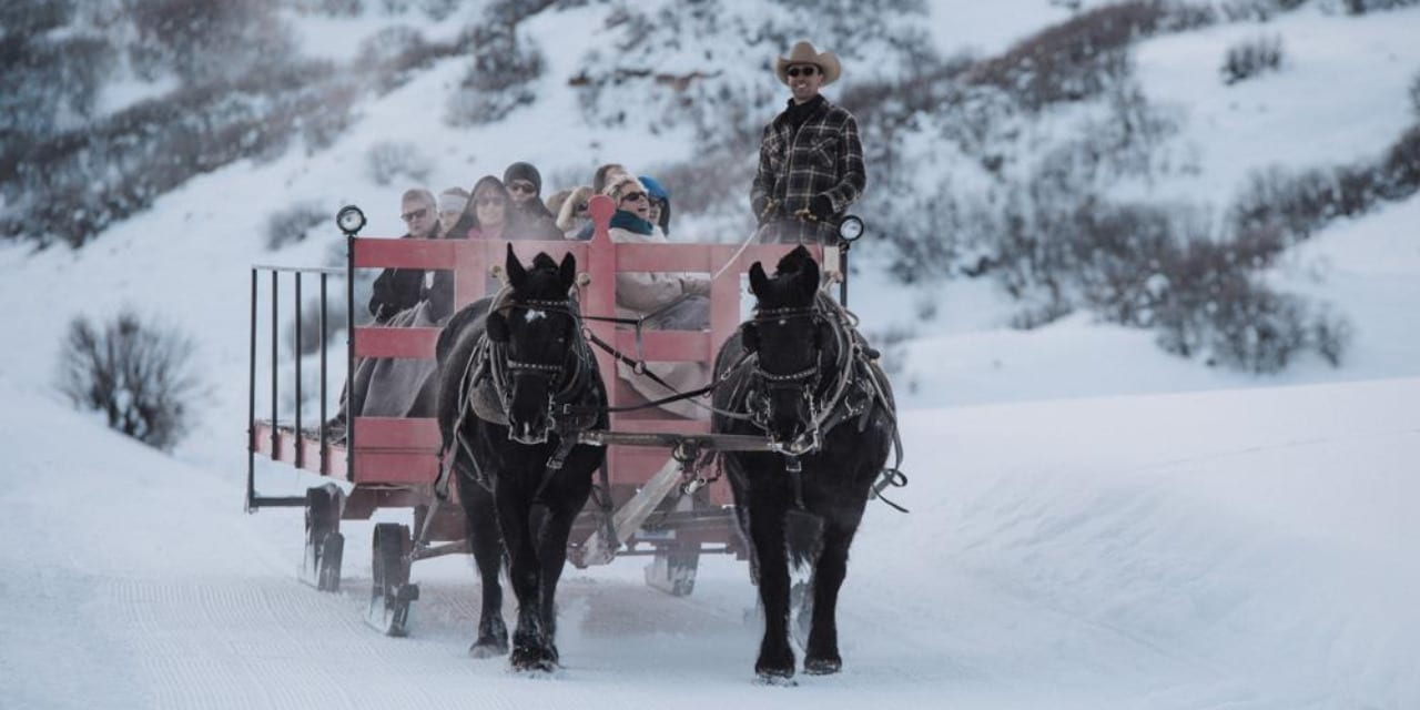 Saddleback Ranch Sleigh Ride Steamboat Springs Colorado