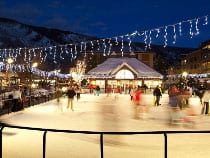 Silver Circle Ice Rink Aspen
