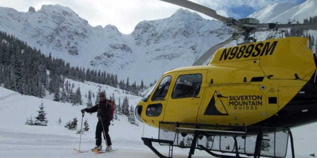 Silverton Heli Skiing Colorado