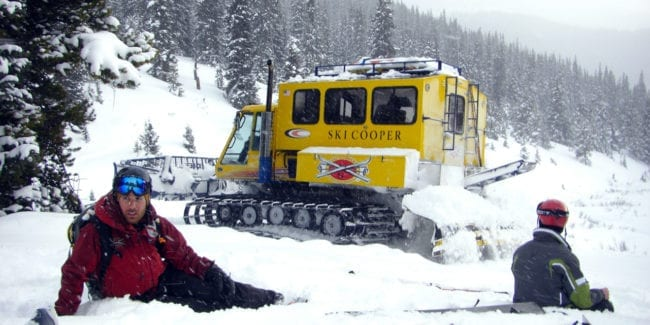 Ski Cooper Chicago Ridge Snowcat Skiing Leadville