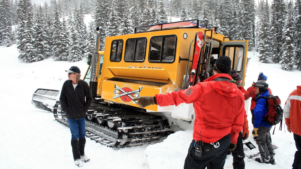 Ski Cooper Chicago Ridge Snowcat Skiing Leadville Colorado