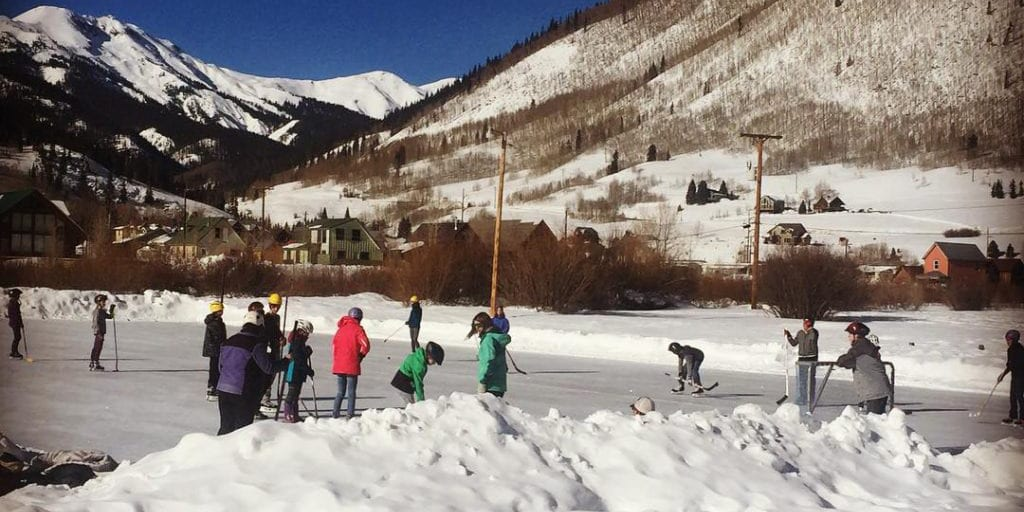 Ski Kendall Ice Skating Silverton Colorado
