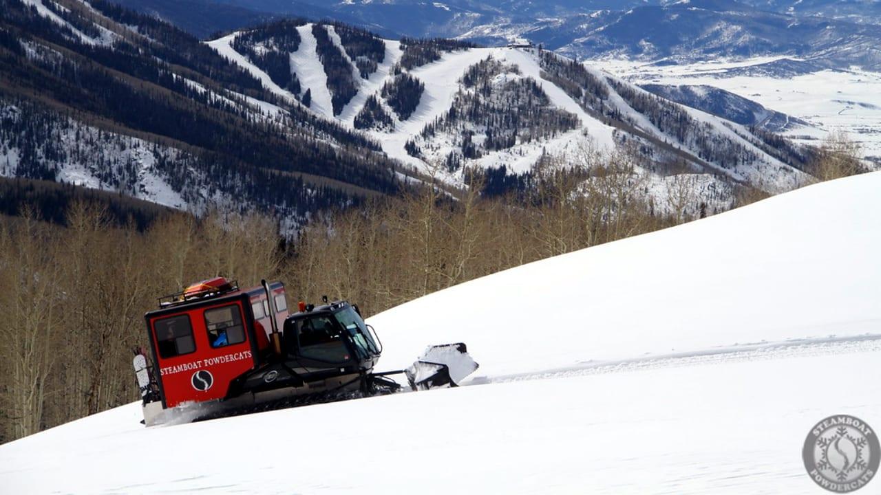 Steamboat Powdercats Snowcat Skiing Colorado
