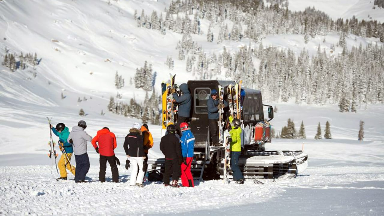 Vail Powder Guides Snowcat Skiing