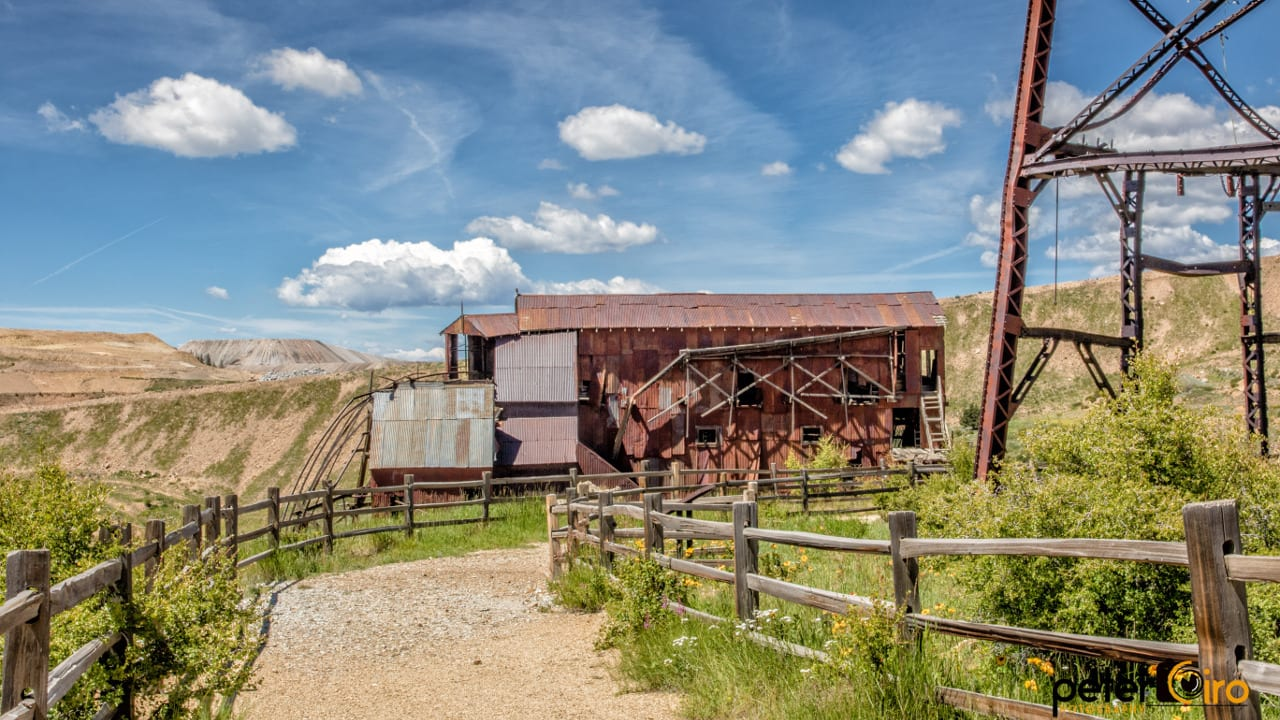 Colorado Gold Rush Mine Victor Colorado