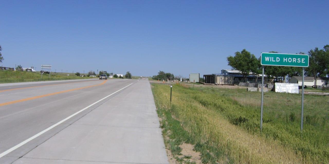 Wild Horse Colorado City Limit