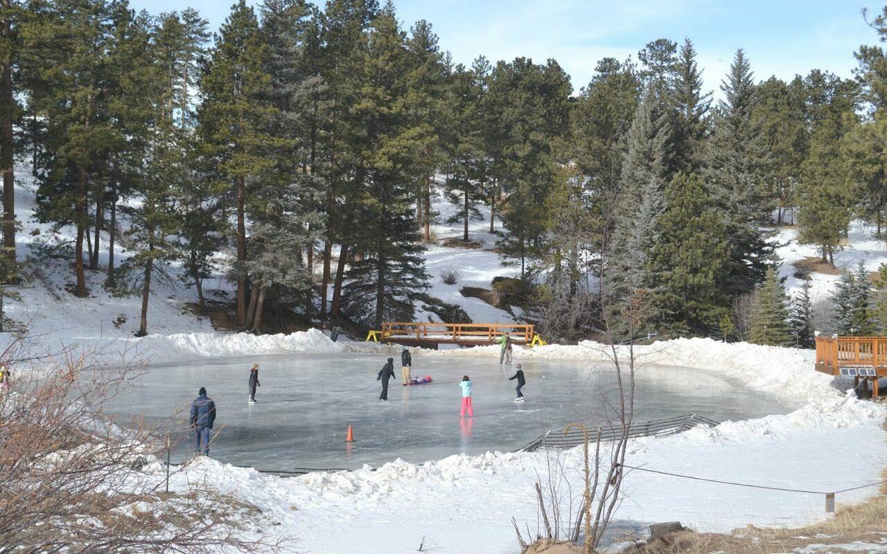 YMCA of the Rockies Ice Skating Estes Park