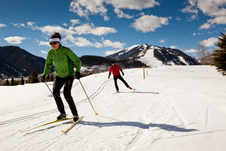 Cross Country Skiing Aspen Colorado
