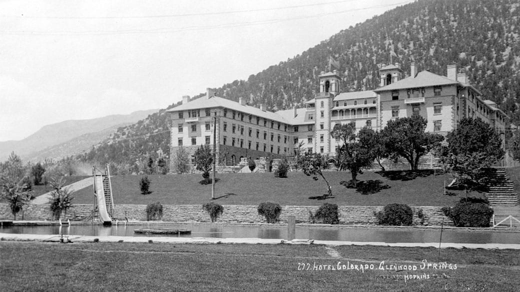 Hotel Colorado Glenwood Springs Vintage