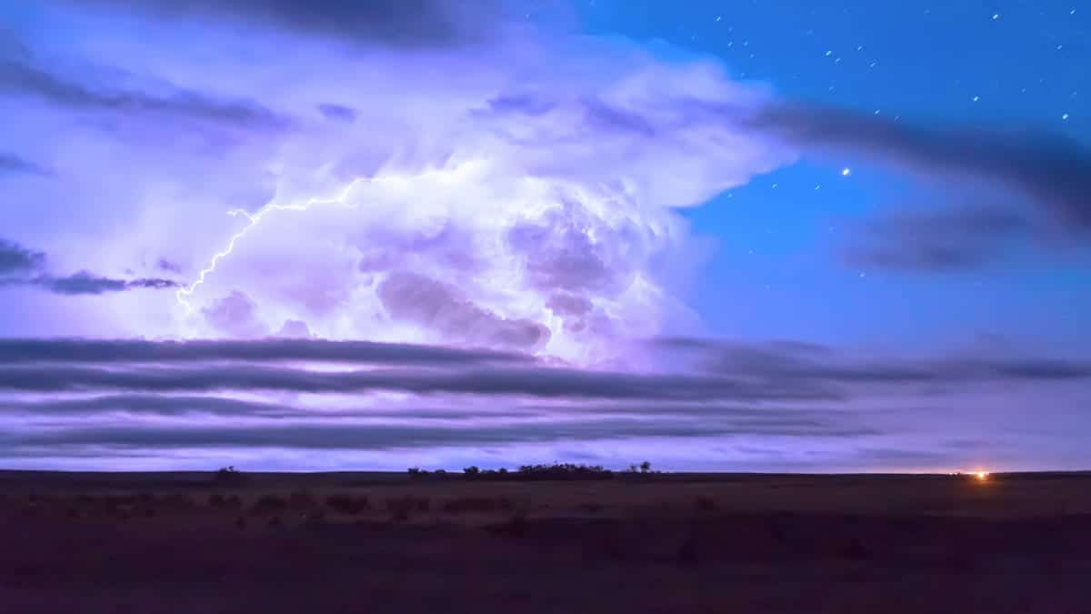 Lightning Thunderstorms Akron Colorado