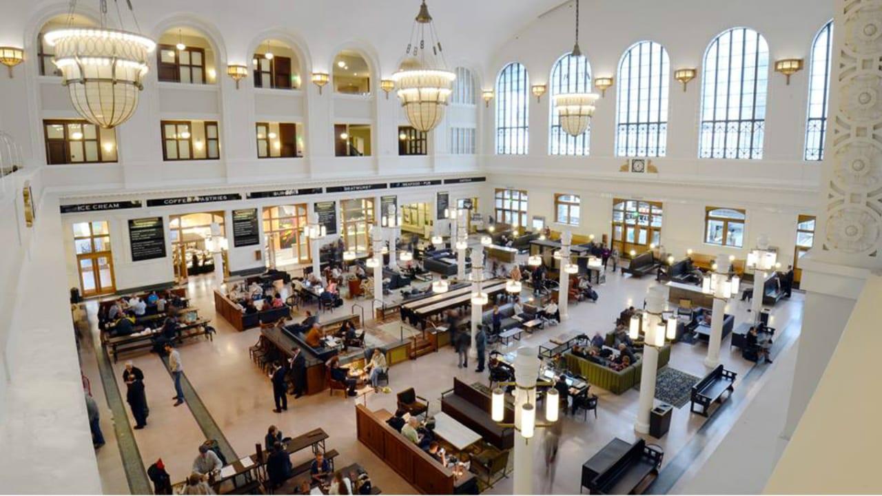 Crawford Hotel Denver Interior
