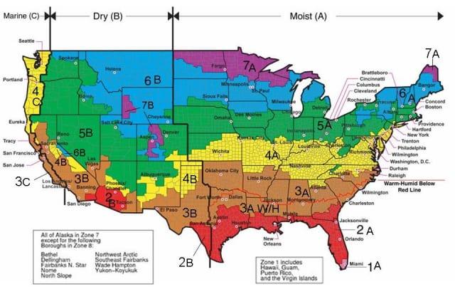 Colorado Climate Zone Map