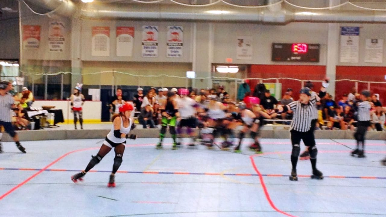 Eagle Pool Ice Rink Roller Derby