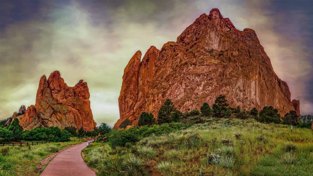 Garden of the Gods Path Colorado Springs