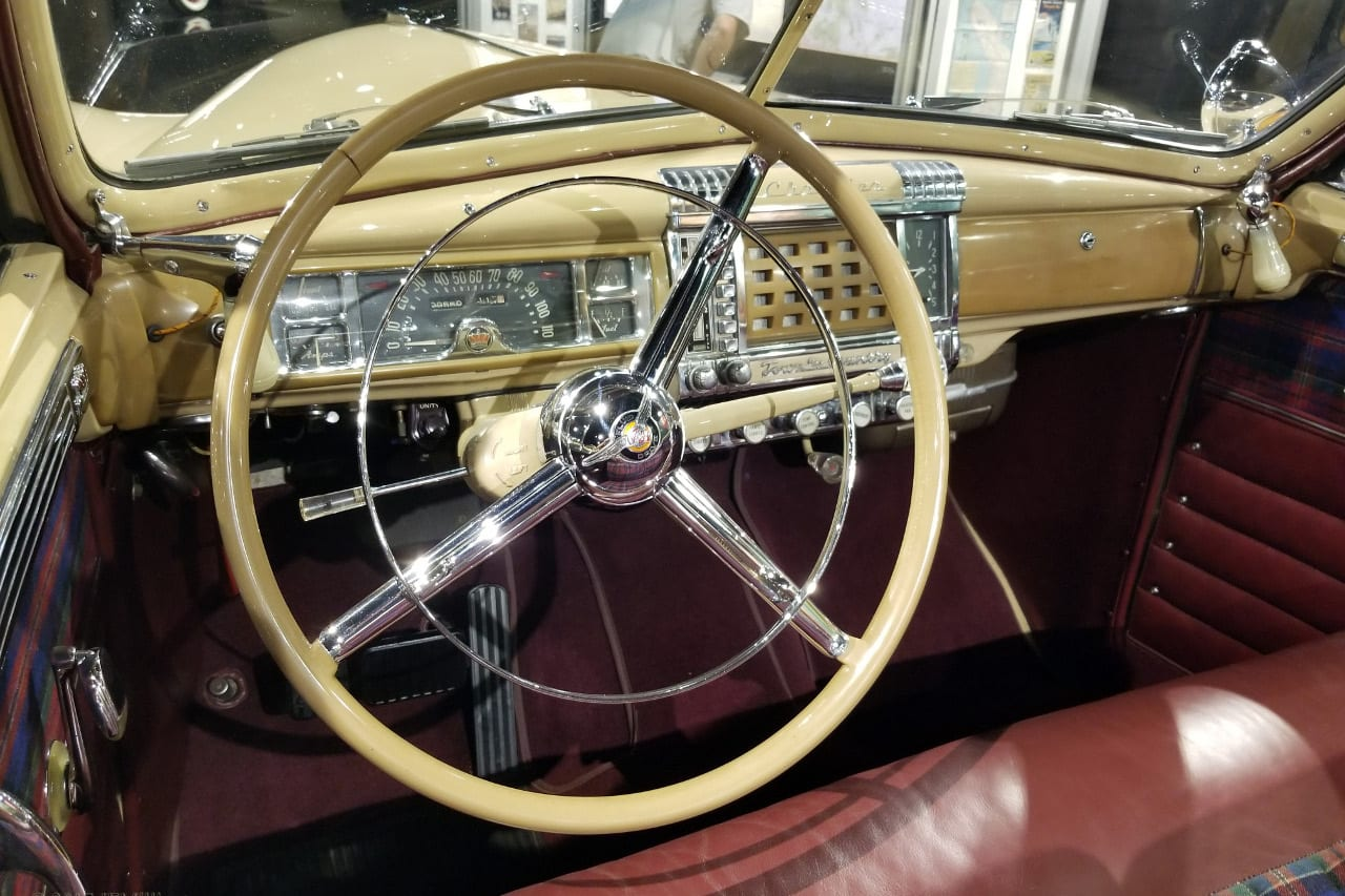 Gateway Auto Museum Car Interior