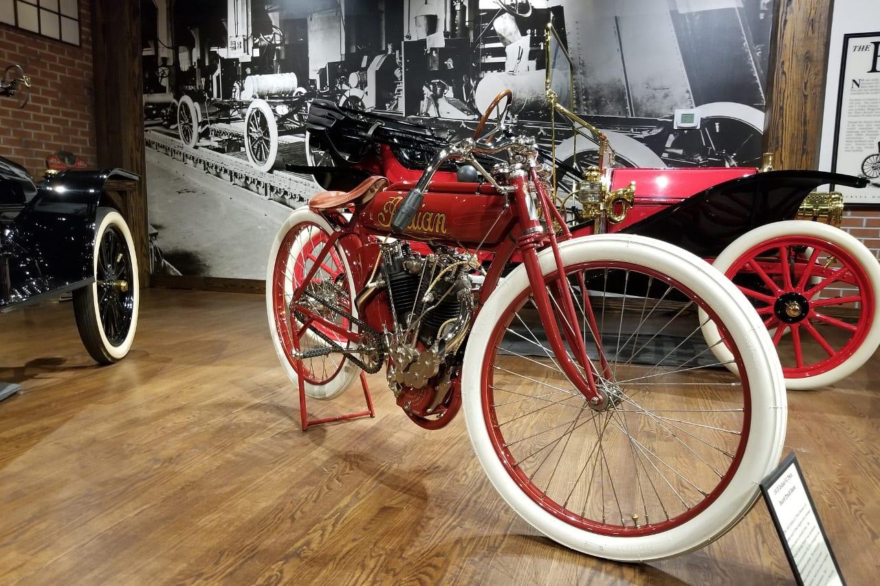 Gateway Auto Museum Motorbike