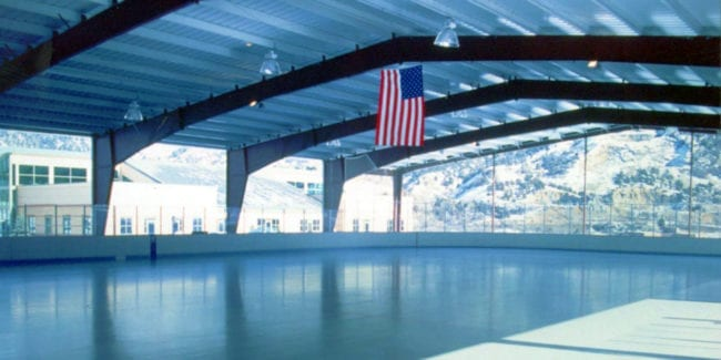 Glenwood Springs Ice Rink Colorado