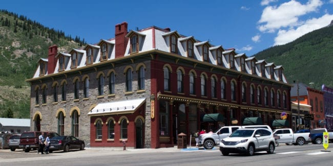 Grand Imperial Hotel Silverton Colorado