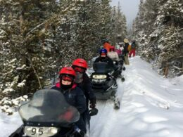High Country Tours Snowmobile Tours