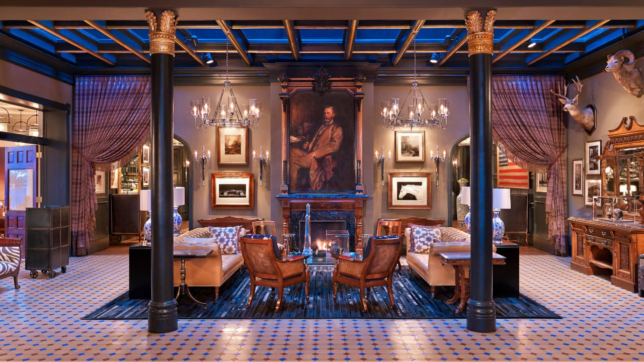 Hotel Jerome Apsen Colorado Fireside Lounge