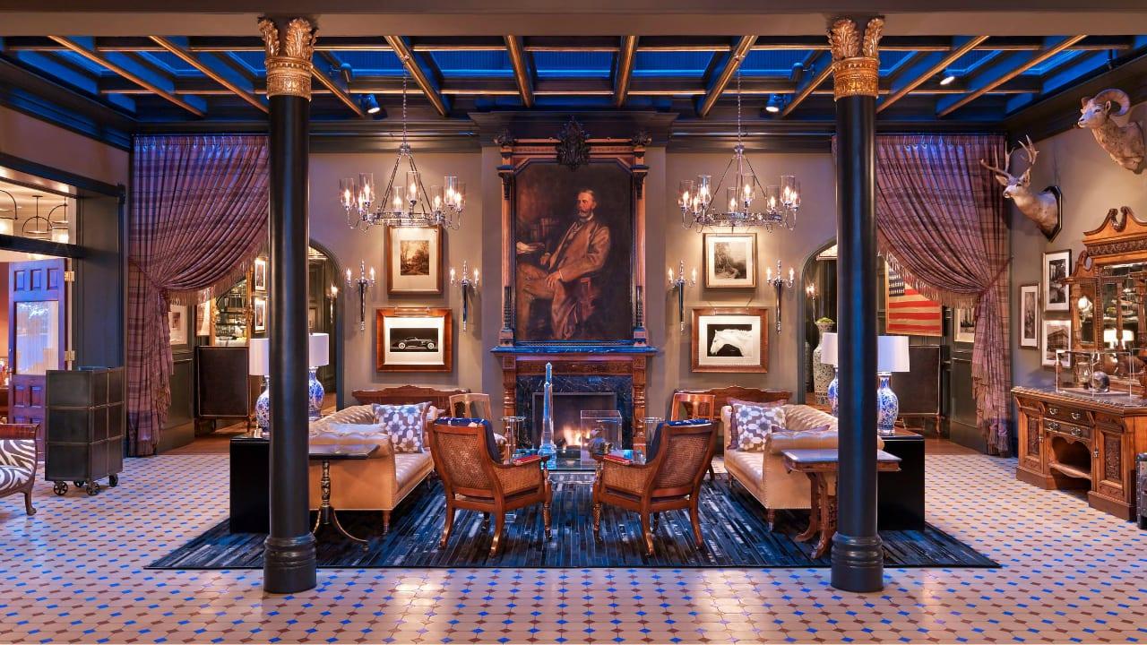 Hotel Jerome Apsen Colorado Fireside Lounge