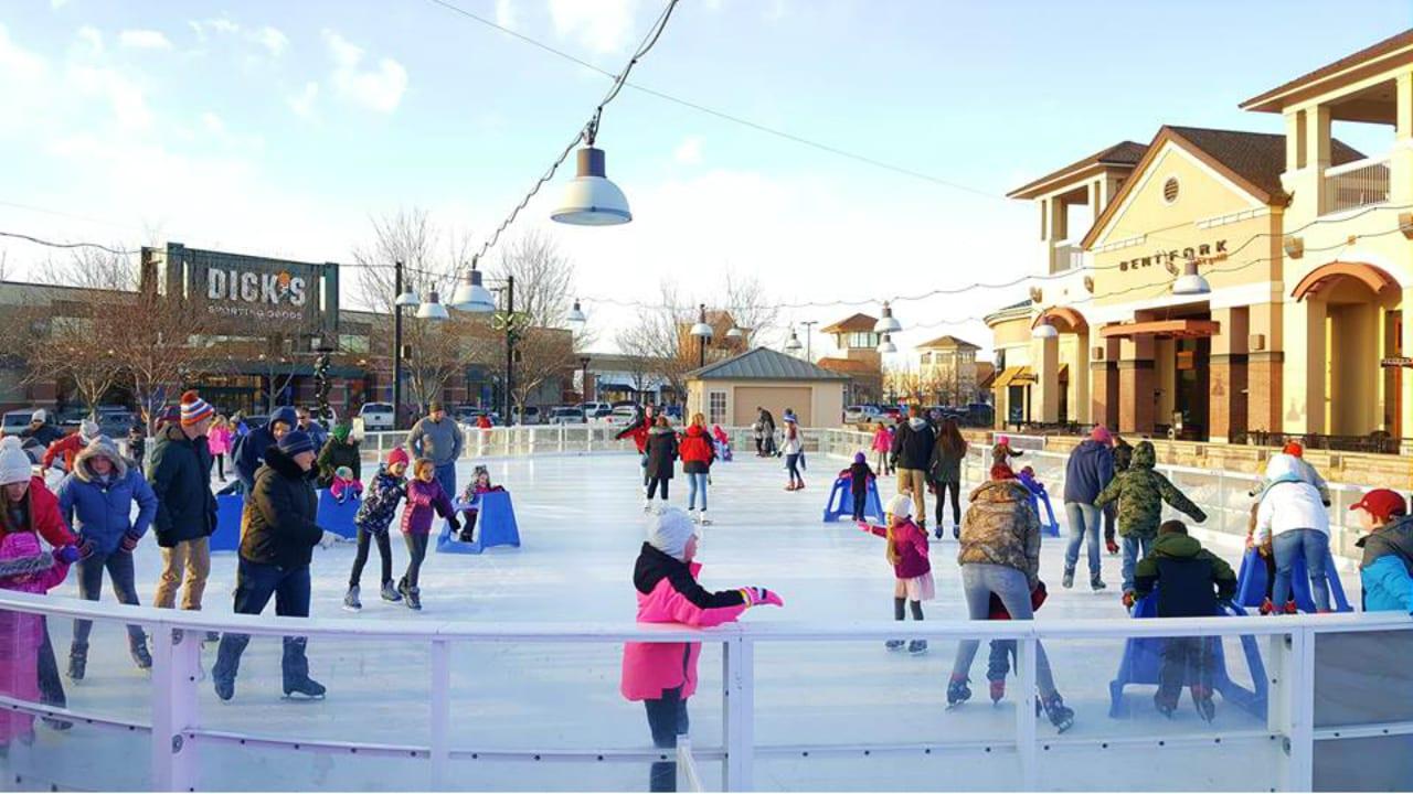 Ice Rink Promenade Shops at Centerra