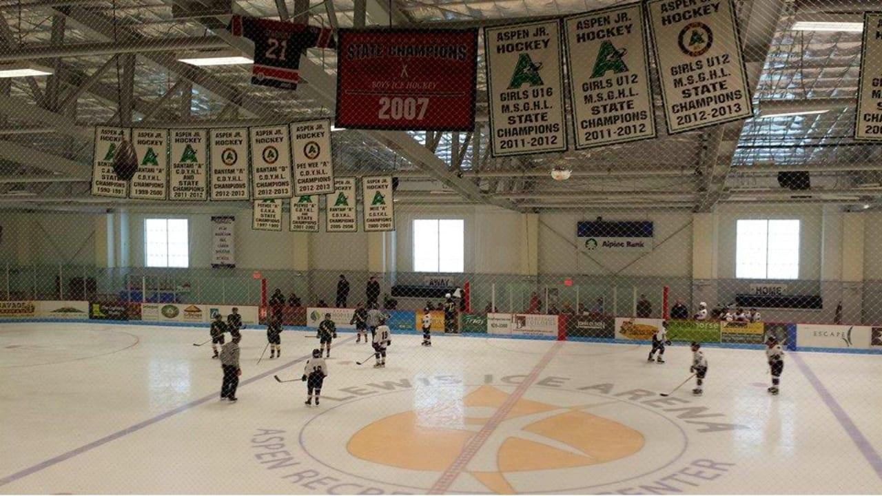 Lewis Ice Arena Hockey Aspen