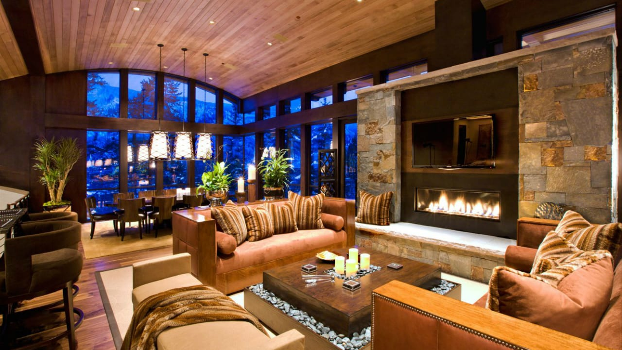 Little Nell Hotel Lounge Aspen Colorado