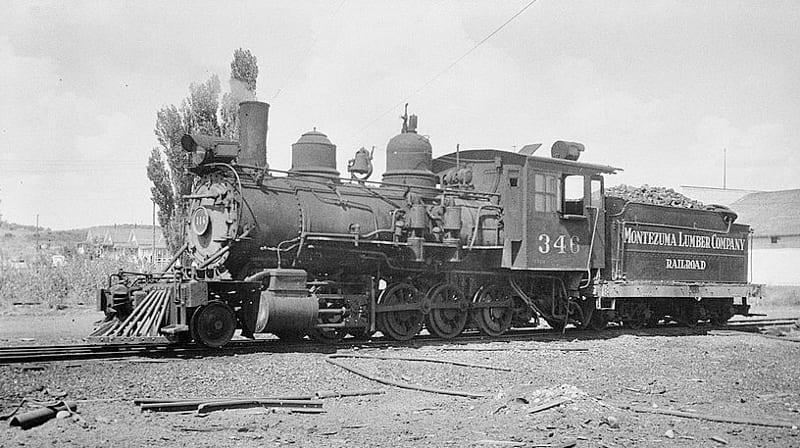 McPhee Railroad Locomotive Montezuma Lumber Company