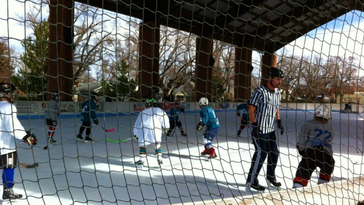 Longmont Ice Pavilion Hockey Game