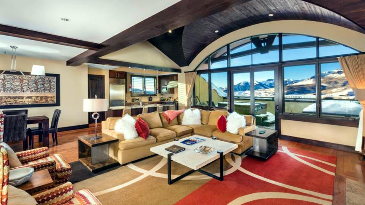 Lumiere Hotel Telluride Lounge