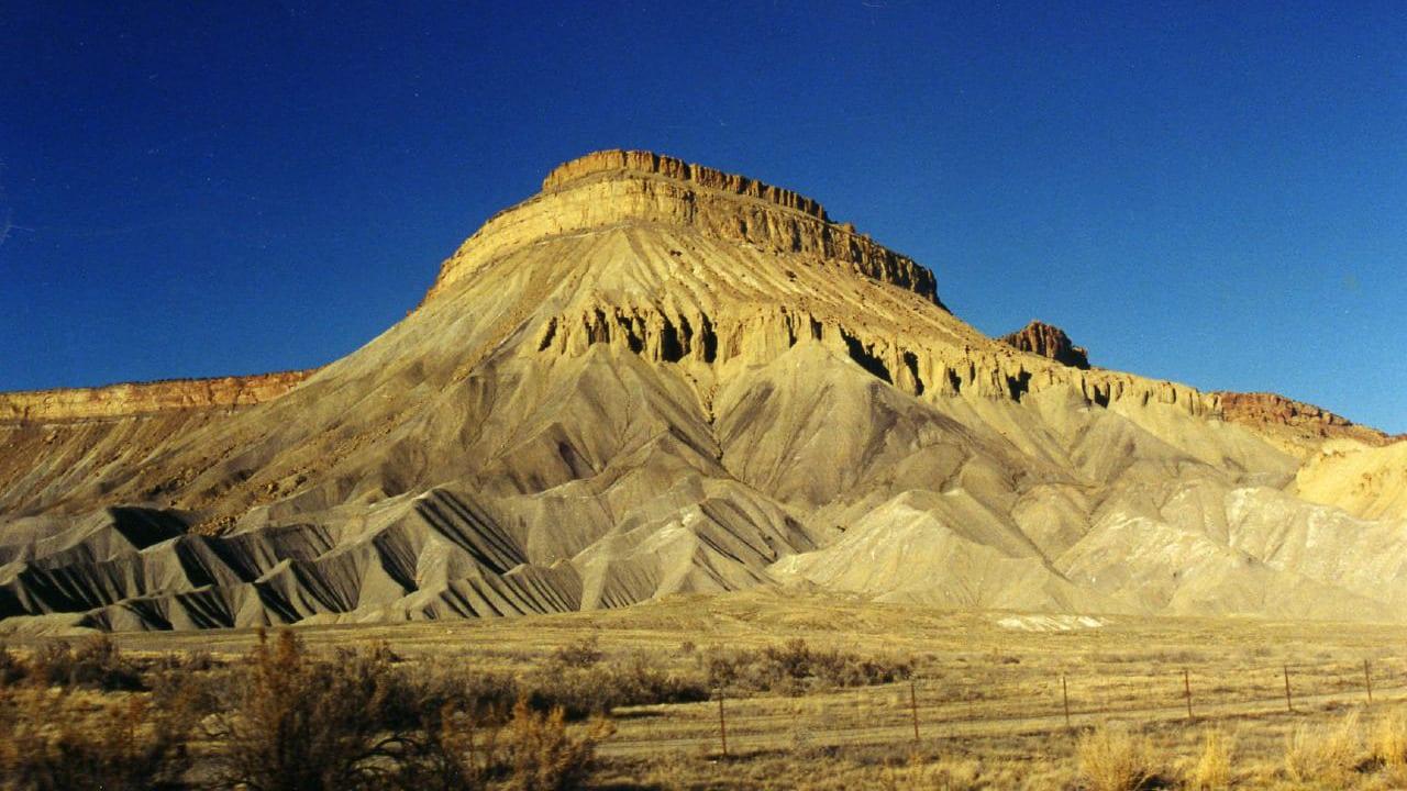 Mt Garfield Grand Junction Colorado