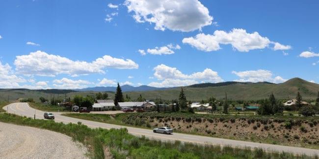 Parshall Colorado US Highway 40
