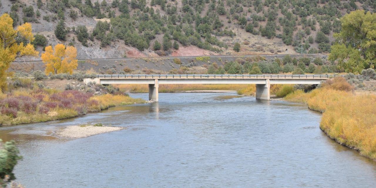 Colorado River Bridge Radium