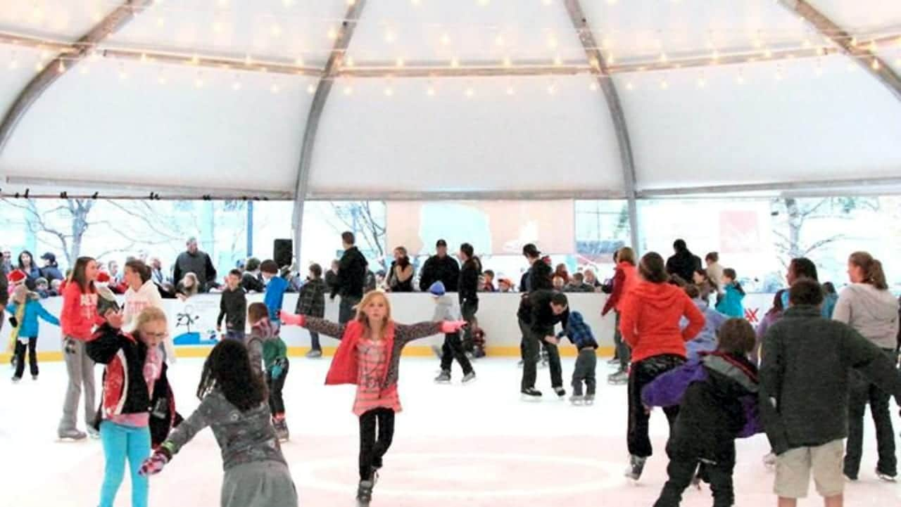 Rink at the Rock Ice Skating Castle Rock