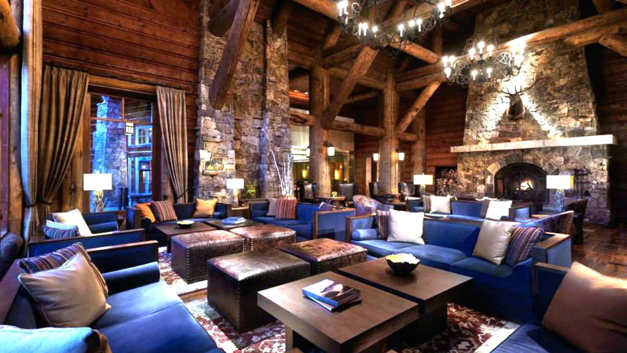 Ritz-Carlton Bachelor Gulch Lobby Avon Colorado