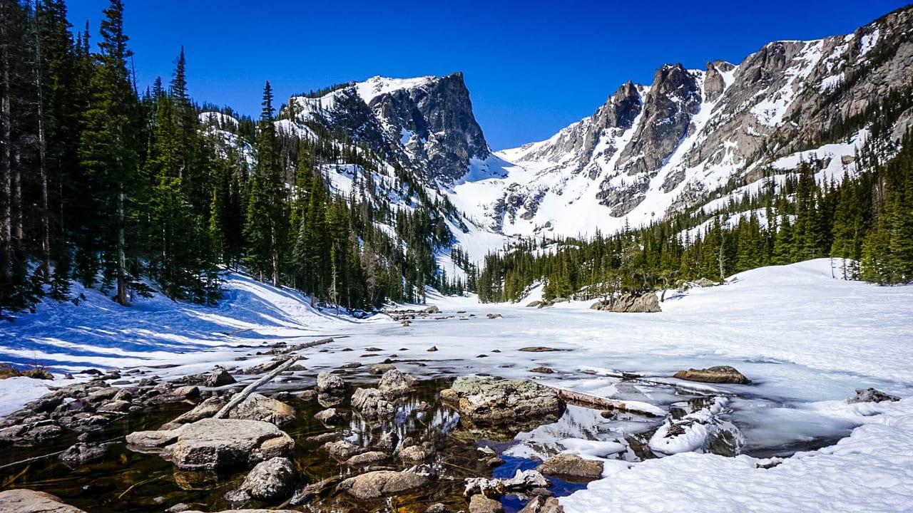 Rocky Mountain National Park Winter Colorado