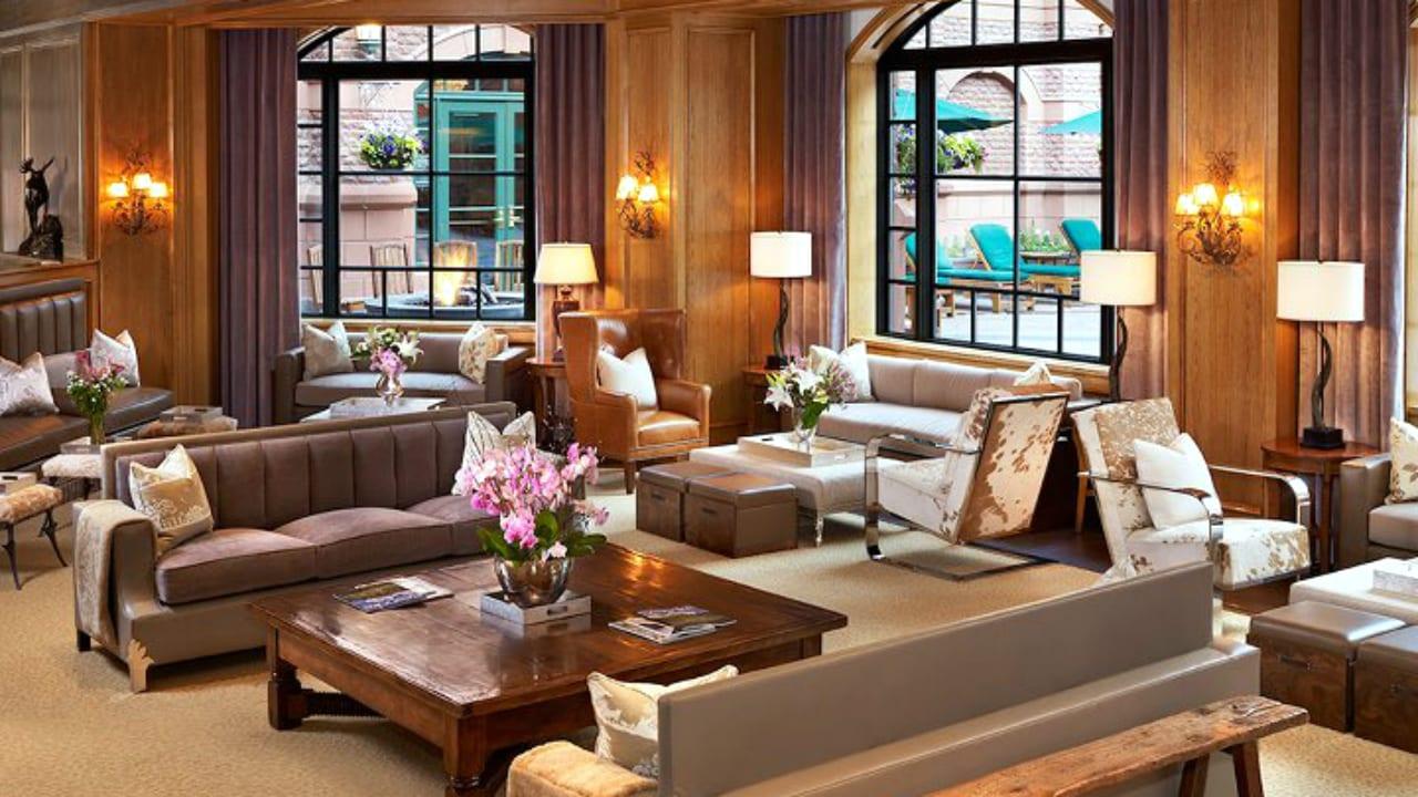 St Regis Aspen Resort Lounge