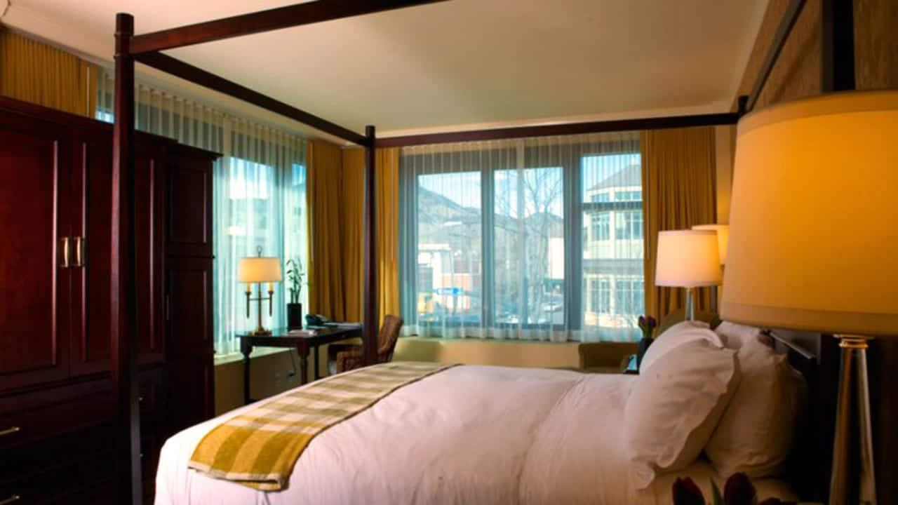 St Julien Hotel Room Boulder Colorado