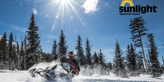 Sunlight Mountain Resort Snowmobiling