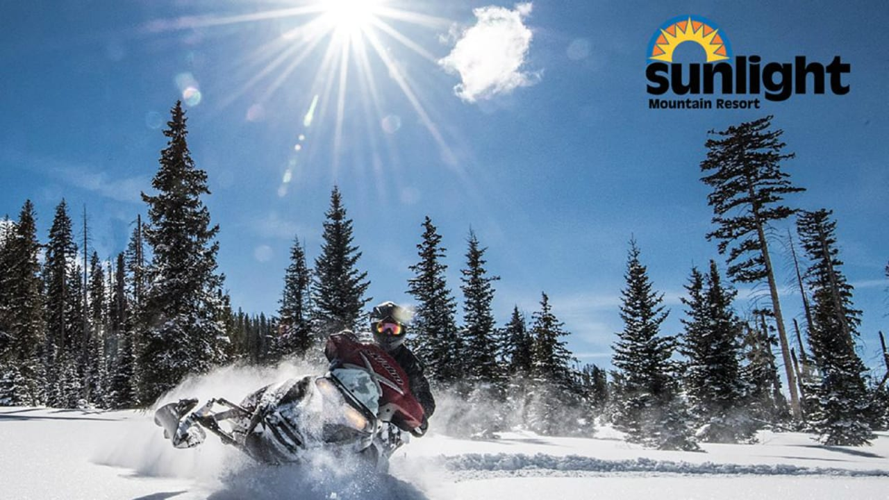 Sunlight Mountain Resort Snowmobiling