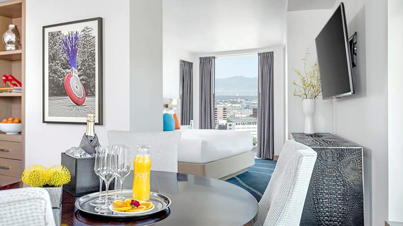 The ART Hotel Room Denver