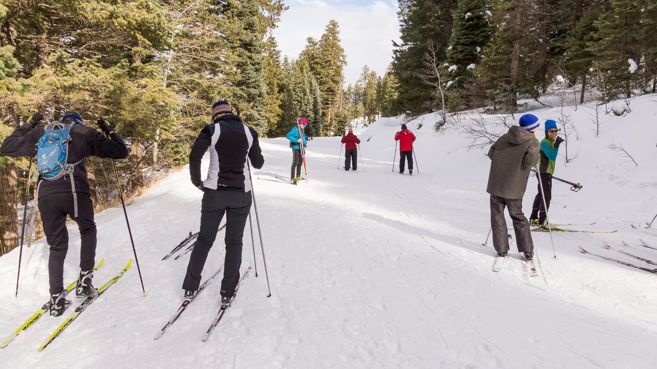 Vallecito Lake Cross Country Skiing