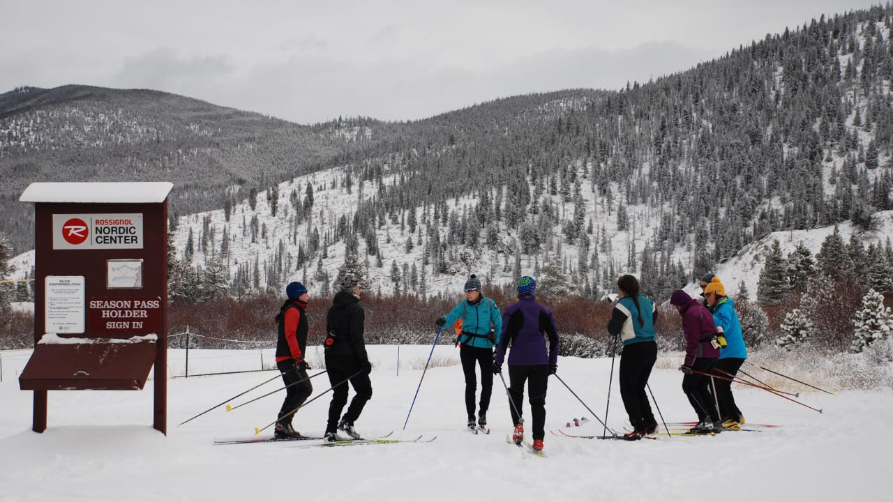 Gold Run Nordic Center Cross Country Skiers